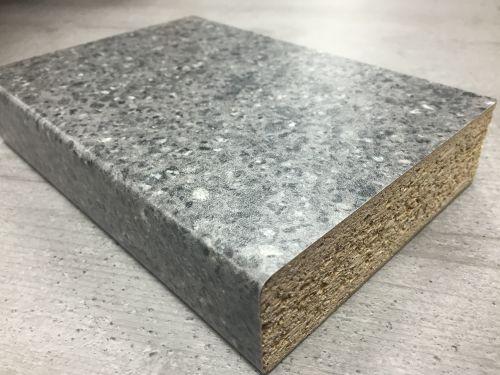 Bushboard Omega S105 Pewter Pebblestone - 3mtr Breakfast Bar