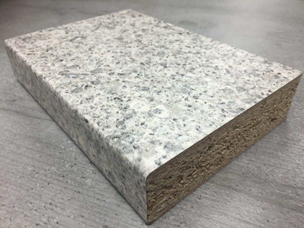Bushboard Omega S101 Silver Pebblestone 3mtr Kitchen Worktop
