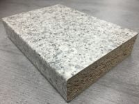 Bushboard Omega S101 Silver Pebblestone - 3mtr Kitchen Worktop