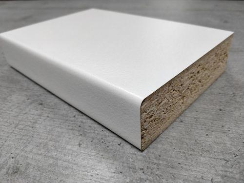 Bushboard Omega B068 Pure White - 4.1mtr Breakfast Bar