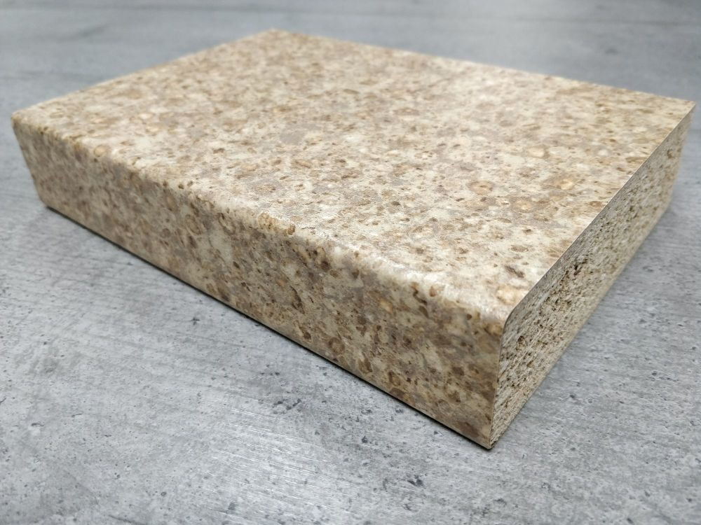 Bushboard Omega S102 Sand Pebblestone 3mtr Kitchen Worktop
