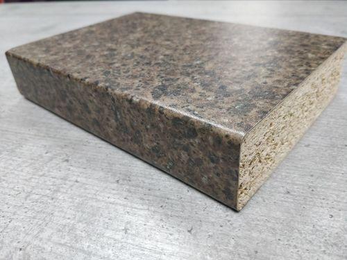 Bushboard Omega S106 Bronze Pebblestone - 3mtr Breakfast Bar