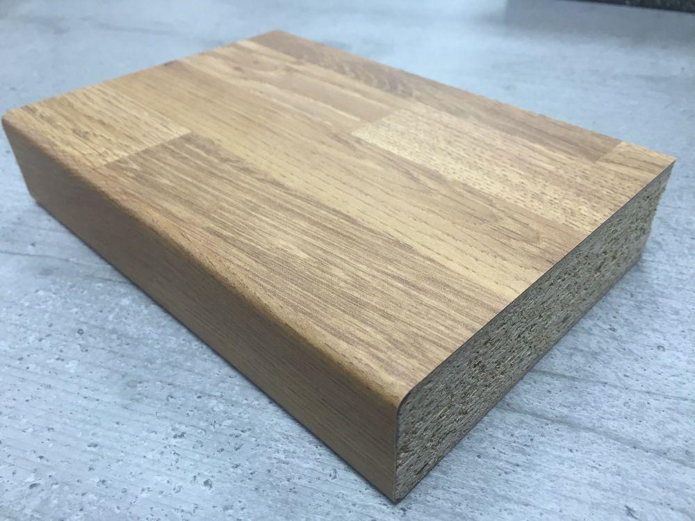 Bushboard Options Stableford Oak Block 3mtr Kitchen Worktop