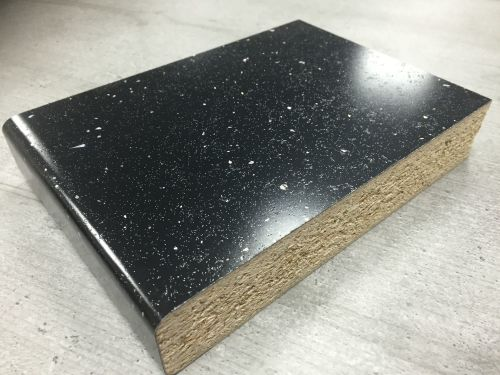 Axiom Platinum PP7682PET Platinum Black 3.6mtr Kitchen Breakfast Bar