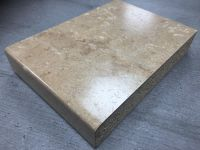 Axiom Etchings PP3526AET Travertine Granite 1.8mtr Kitchen Breakfast Bar