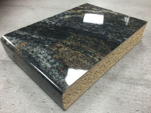 Axiom Gloss PP6357 Black Storm 3.6mtr Kitchen Worktop