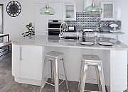 Vogue White Gloss Lacquered Doors