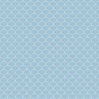 Showerwall SW071 Scallop - 2.4mtr Square Edged Wall Panel
