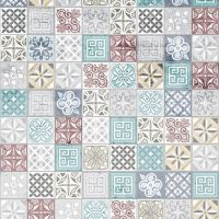 Showerwall SW078 Moroccan - 2.4mtr Square Edged Wall Panel