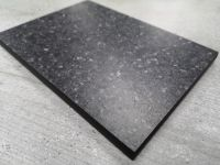 Bushboard Evolve Black Pebblestone - 3mtr Compact Solid Laminate Worktop