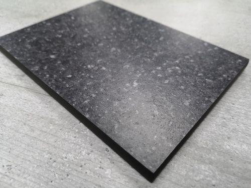 Bushboard Evolve Black Pebblestone - 3mtr Compact Solid Laminate Worktop