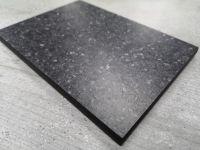 Bushboard Evolve Black Pebblestone - 3mtr Compact Solid Laminate Breakfast Bar