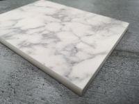 Bushboard Evolve Marmo Bianco - 3mtr Compact Solid Laminate Worktop