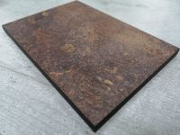 Duropal S76026GR Ceramic Rust - 2mtr Compact Solid Laminate Breakfast Bar