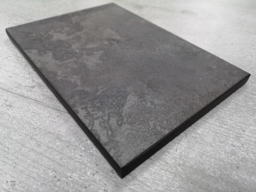 Duropal F76054GR Metallic Brown - 4.1mtr Compact Solid Laminate Breakfast B