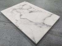 Duropal S63009CM Carrara Marble - 2mtr Compact Solid Laminate Breakfast Bar