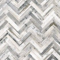 HERRINGBONE WHITEWASH Matt