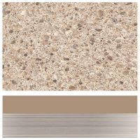 Artis Snowstone Cream Chrome Square Edge - 3mtr Kitchen Worktop
