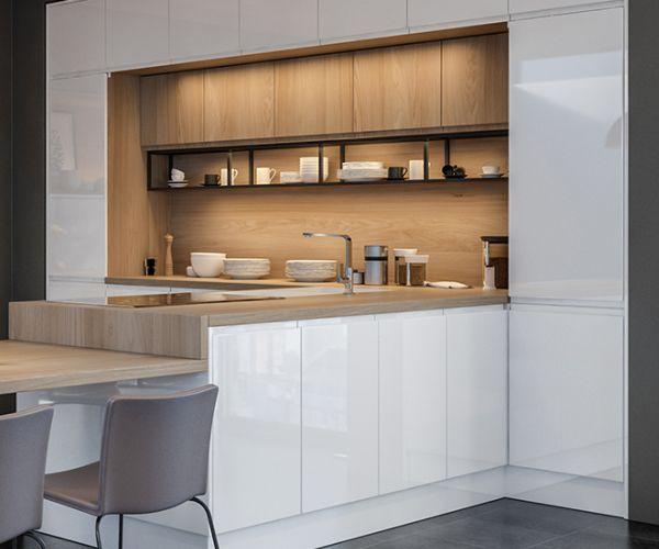 WTC Handle-less Kitchen Doors