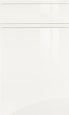 White Gloss Handle-less SAMPLE DOOR-