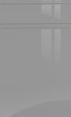 Dust Grey Gloss Handle-less SAMPLE DOOR-
