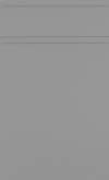 Dust Grey Supermatt Handle-less SAMPLE DOOR-