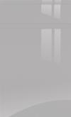 Light Grey Gloss Handle-less SAMPLE DOOR-