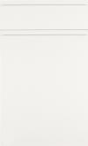 White Supermatt Handle-less SAMPLE DOOR-