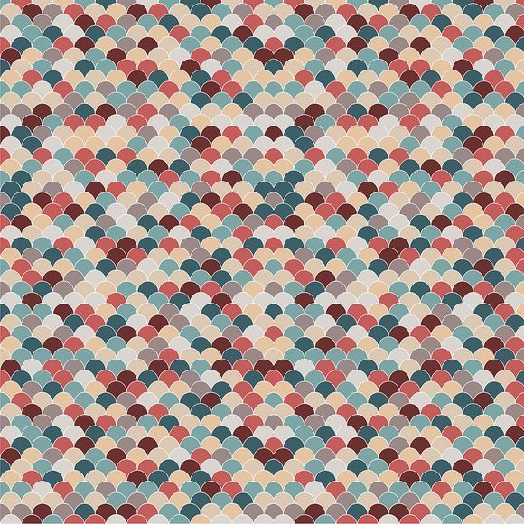 SCA17 Scallop Coral Reef