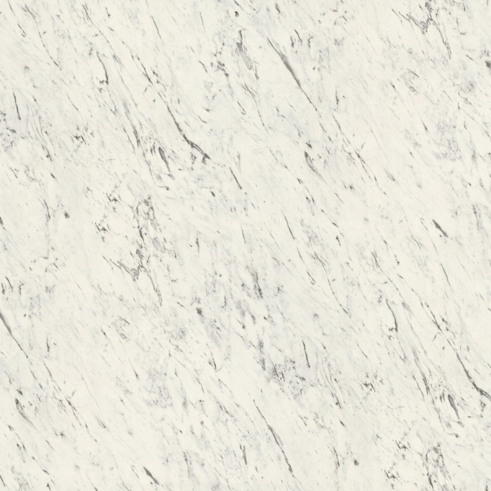 White Carrara Marble F204 ST75 - 16mm Square Edge