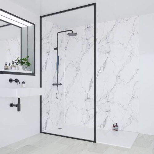 Multipanel Linda Barker 3460 Calacatta Marble Wall Panels