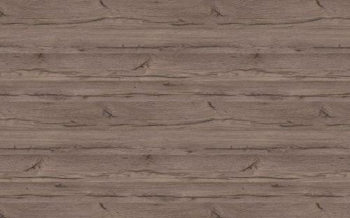 Bushboard Omega Chene Gris  - 3mtr 22mm Slimline Square Edged Curved End Br