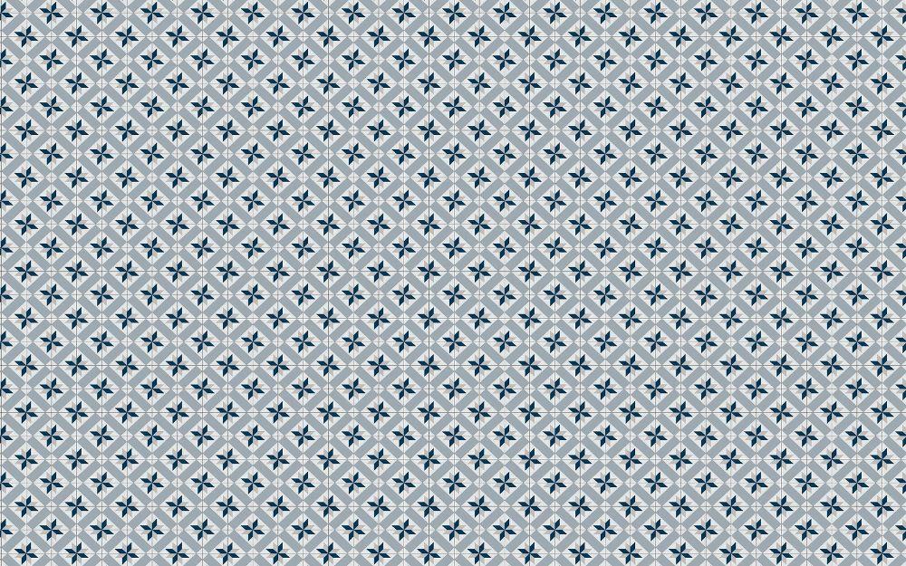 Vista Splashback Kaleidoscope Charcoal Grey