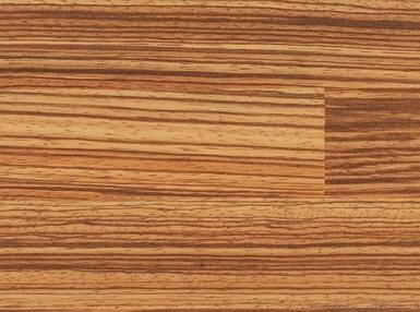 Bushboard Prima 6235 Zebrano Blocked- 3mtr Kitchen Worktop