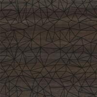 Bushboard Alloy Walnut Geometric 600mm Hob Panel