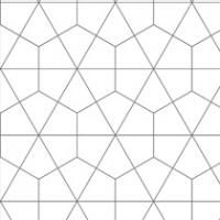 Bushboard Alloy Geometry 600mm Hob Panel