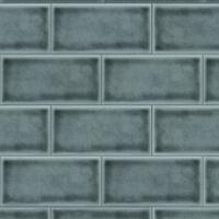Bushboard Alloy Dappled Crackle Tile 3mtr x 750mm Splashback