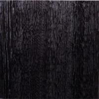 Black Wood High Gloss PVC T&G Bathroom Wall / Ceiling Cladding Pack 4