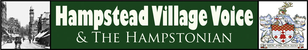 Hampstead Village Voice, site logo.