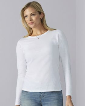 64400L Gildan Softstyle® Ladies L/sleeve T-Shirt