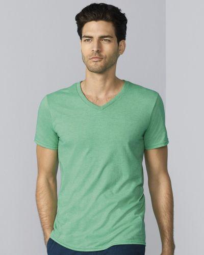 64V00 Gildan Softstyle® Adult V-Neck T-Shirt