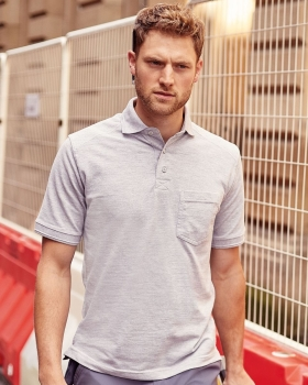 011M Adult's Heavy Duty Cotton Polo