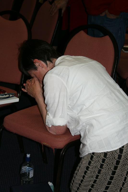 Prayer Kneeling in prayer