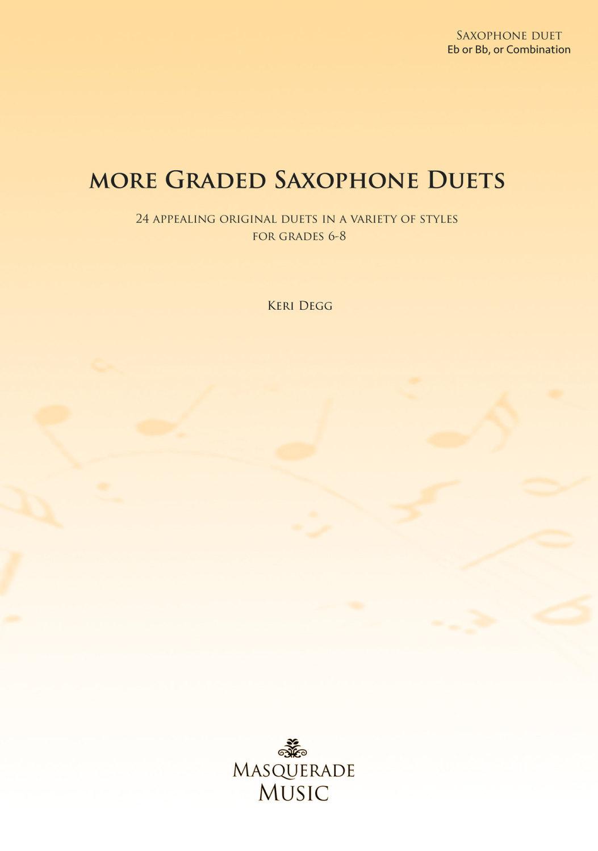 More Graded Saxophone Duets (Grades 6-8) PRE-ORDER