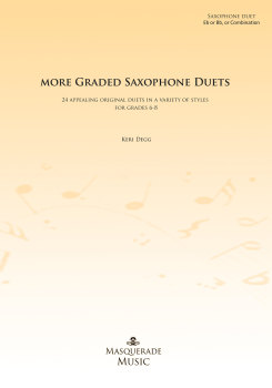More Graded Saxophone Duets (Grades 6-8)