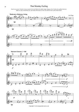 That Monday Feeling Flute Sample page