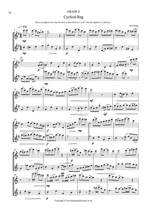 Cyclical Rag Flute sample page