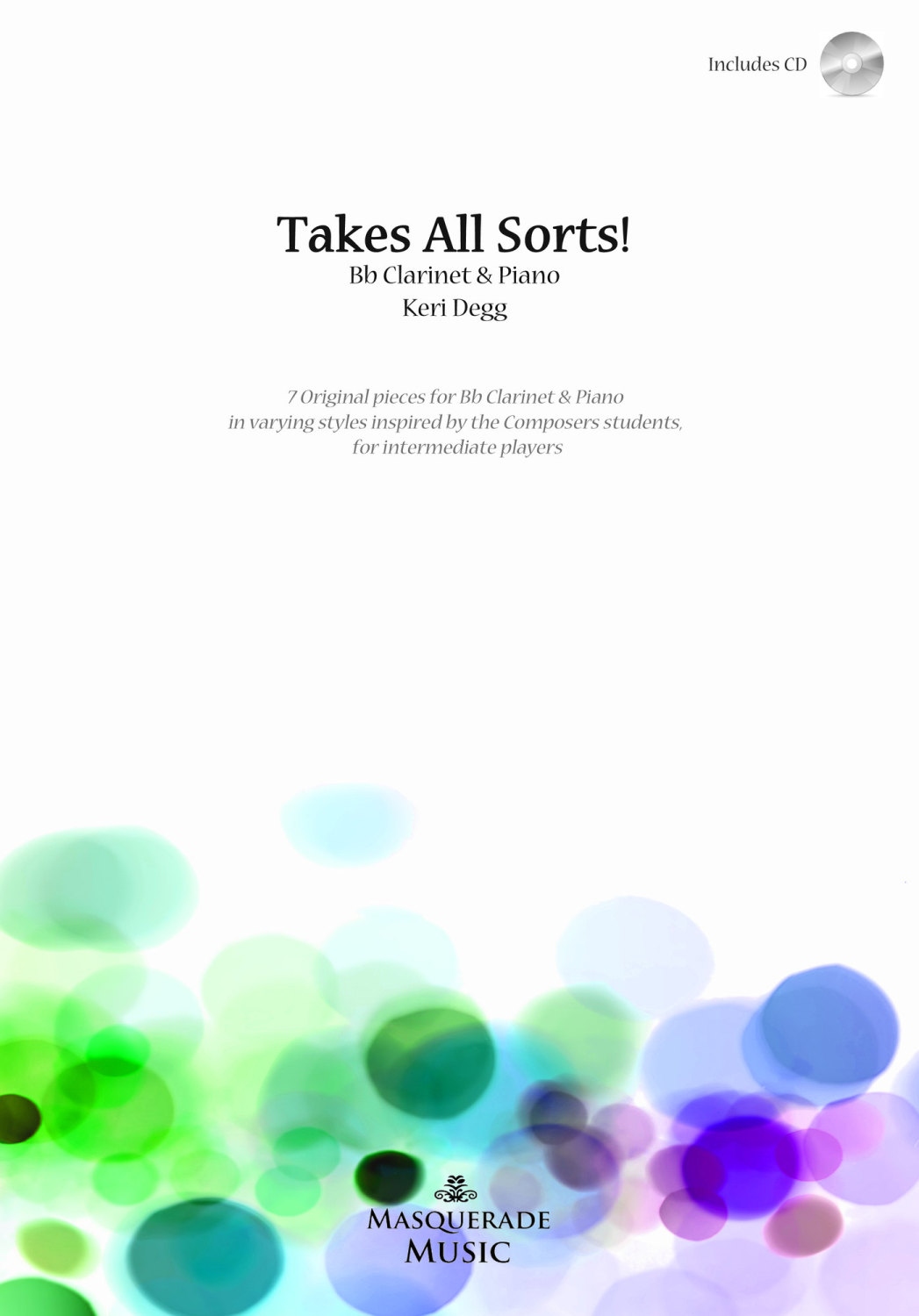 'Takes all sorts!' (Bb Clarinet & Piano) with CD.