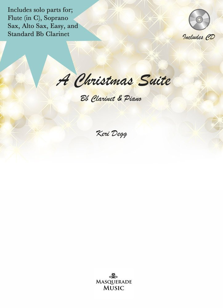 A Christmas Suite - Multi solo instrument option & Piano (incl CD)