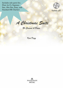 A Christmas Suite - Multi solo instrument option & Piano (includes audio tracks option)